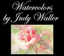watercolors by judy waller logo
